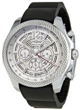 Breitling for Bentley Barnato 42 Silverfärgad/Gummi