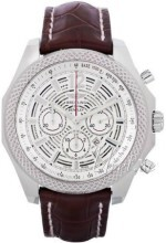 Breitling for Bentley Barnato 42 Silverfärgad/Läder