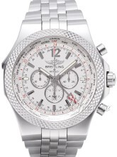 Breitling for Bentley GMT Silverfärgad/Stål