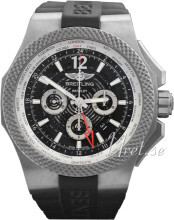 Breitling for Bentley GMT Light Body Svart/Gummi