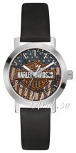 Bulova Harley-Davidson Blå/Läder