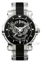 Bulova Harley-Davidson Svart/Stål Ø23 mm