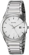 Bulova Dress Silverfärgad/Stål Ø38 mm