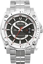 Bulova Precisionist Svart/Titan Ø46 mm