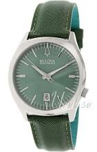 Bulova Accutron Grön/Läder