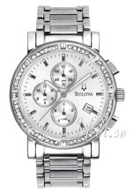 Bulova Highbridge Silverfärgad/Stål Ø39 mm