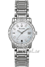 Bulova Diamond Vit/Stål Ø26 mm