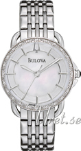 Bulova Diamond Vit/Stål Ø30 mm
