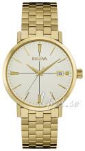 Bulova Bracelet Beige/Gulguldtonat stål
