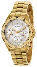 Bulova Bracelet Silverfärgad/Gulguldtonat stål