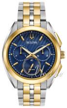 Bulova Bracelet Blå/Gulguldtonat stål
