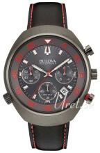 Bulova Accutron Svart/Läder