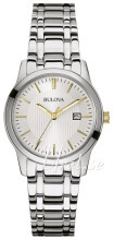 Bulova Dress Silverfärgad/Stål Ø30 mm