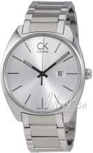 Calvin Klein Exchange Silverfärgad/Stål Ø44 mm