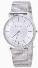 Calvin Klein Minimal Silverfärgad/Stål Ø40 mm