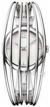 Calvin Klein Size L (7 inches) Silverfärgad/Stål