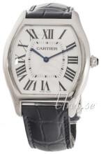 Cartier Tortue Silverfärgad/Läder