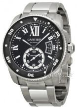 Cartier Calibre De Cartier Svart/Stål Ø42 mm
