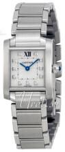 Cartier Tank Francaise Silverfärgad/Stål