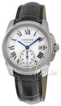 Cartier Calibre De Cartier Silverfärgad/Läder