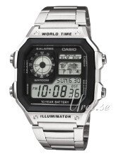Casio Collection LCD/Stål 42x42 mm