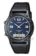 Casio Svart/Resinplast Ø38.8 mm