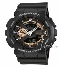 Casio G Shock Svart/Resinplast