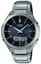 Casio Radio Controlled Svart/Titan