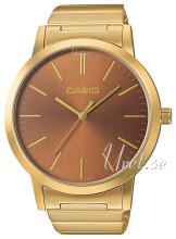 Casio Casio Collection Brun/Gulguldtonat stål