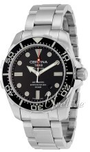 Certina DS Action Gent Diver Svart/Stål Ø43.2 mm
