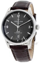 Certina Automatik DS Grå/Läder Ø40 mm
