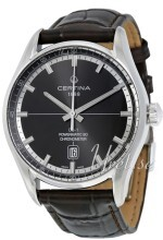 Certina DS 1 Grå/Läder Ø40 mm