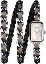 Chanel Premiere Vit/Läder