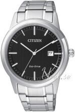Citizen Svart/Stål