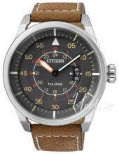 Citizen Leather Grå/Läder