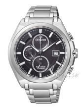 Citizen Super Titanium Svart/Titan