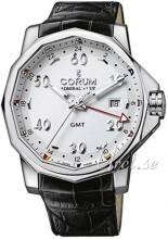Corum Admirals Cup Challaenger 44 Vit/Läder