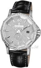 Corum Admirals Cup Legend 42 Diamantinfattad/Läder Ø42 mm