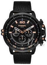 Diesel Chronograph Svart/Läder