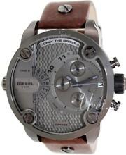 Diesel Chronograph Grå/Läder