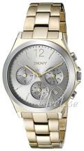 DKNY Chronograph Silverfärgad/Gulguldtonat stål