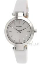 DKNY Dress Silverfärgad/Läder