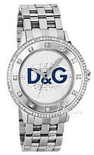 Dolce & Gabbana D&G Prime Time Silverfärgad/Stål Ø45 mm