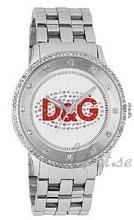 Dolce & Gabbana D&G Prime Time Silverfärgad/Stål Ø43 mm