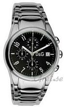 Dolce & Gabbana D&G Sandpiper Black Dial Steel
