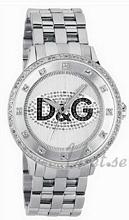 Dolce & Gabbana D&G Prime Time Silverfärgad/Stål Ø46 mm