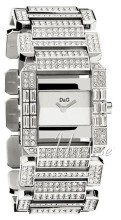 Dolce & Gabbana D&G Silverfärgad/Stål 29x21 mm