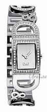 Dolce & Gabbana D&G Ireland Silverfärgad/Stål 25x20 mm