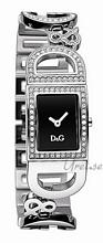 Dolce & Gabbana D&G Svart/Stål 25x20 mm