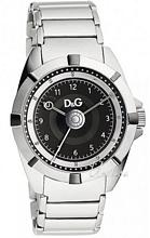 Dolce & Gabbana D&G Dance Svart/Stål Ø44 mm